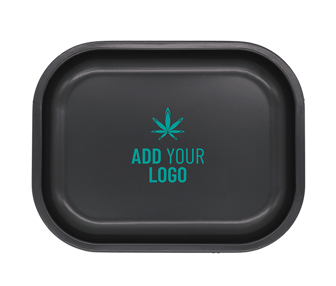 Quick Print Small Custom Tin Rolling tray with logo