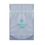 Custom Mylar Bags Eighth Ounce with logo