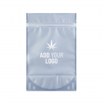 Custom Mylar Barrier Bags Half Ounce with logo