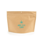 Kraft Exit Bags Child Resistant with Custom Logo