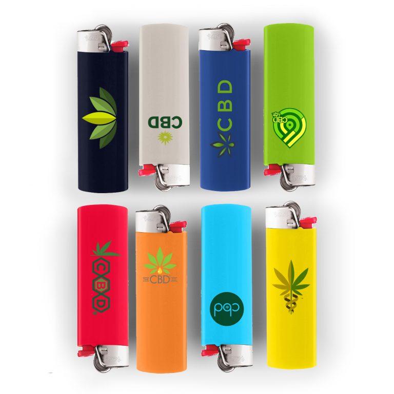 bic lighters brandable