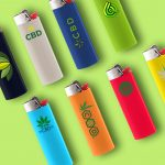 a lot of bic lighters that can be customize